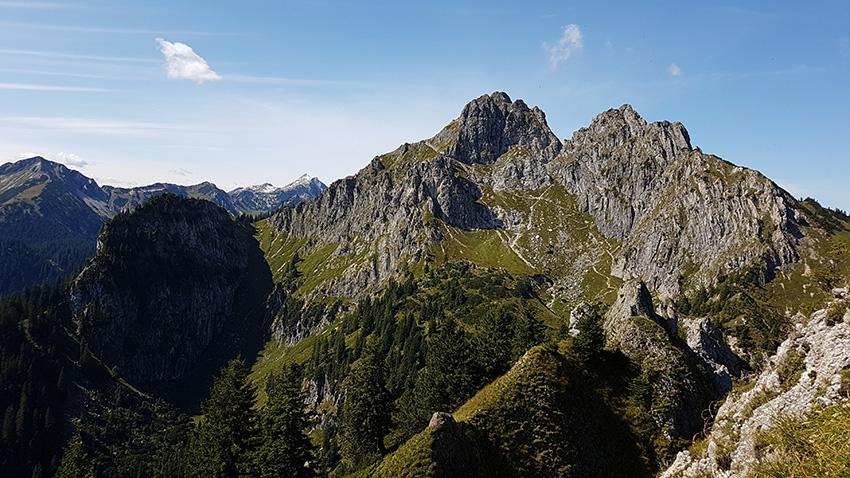 Brunnenkopf zur Klammspitze